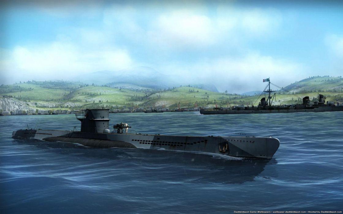 SILENT HUNTER war submarine fighting simulation military (16) wallpaper