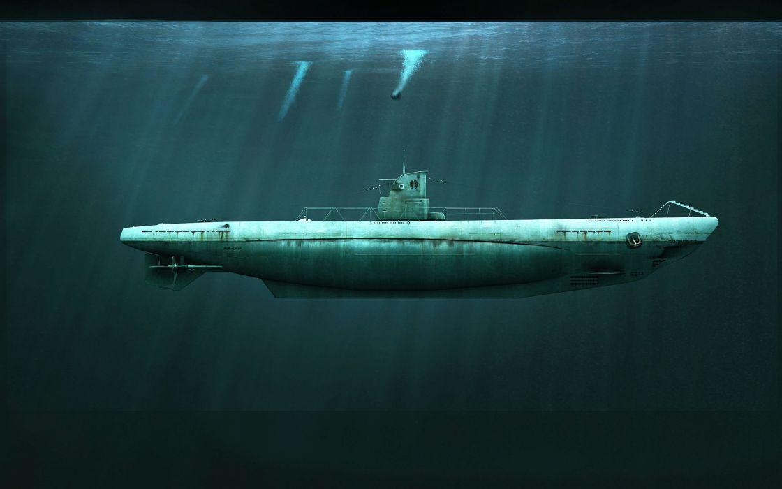 SILENT HUNTER war submarine fighting simulation military (22) wallpaper