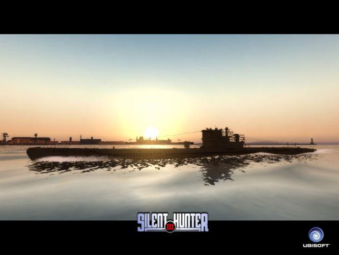 SILENT HUNTER war submarine fighting simulation military (28) wallpaper