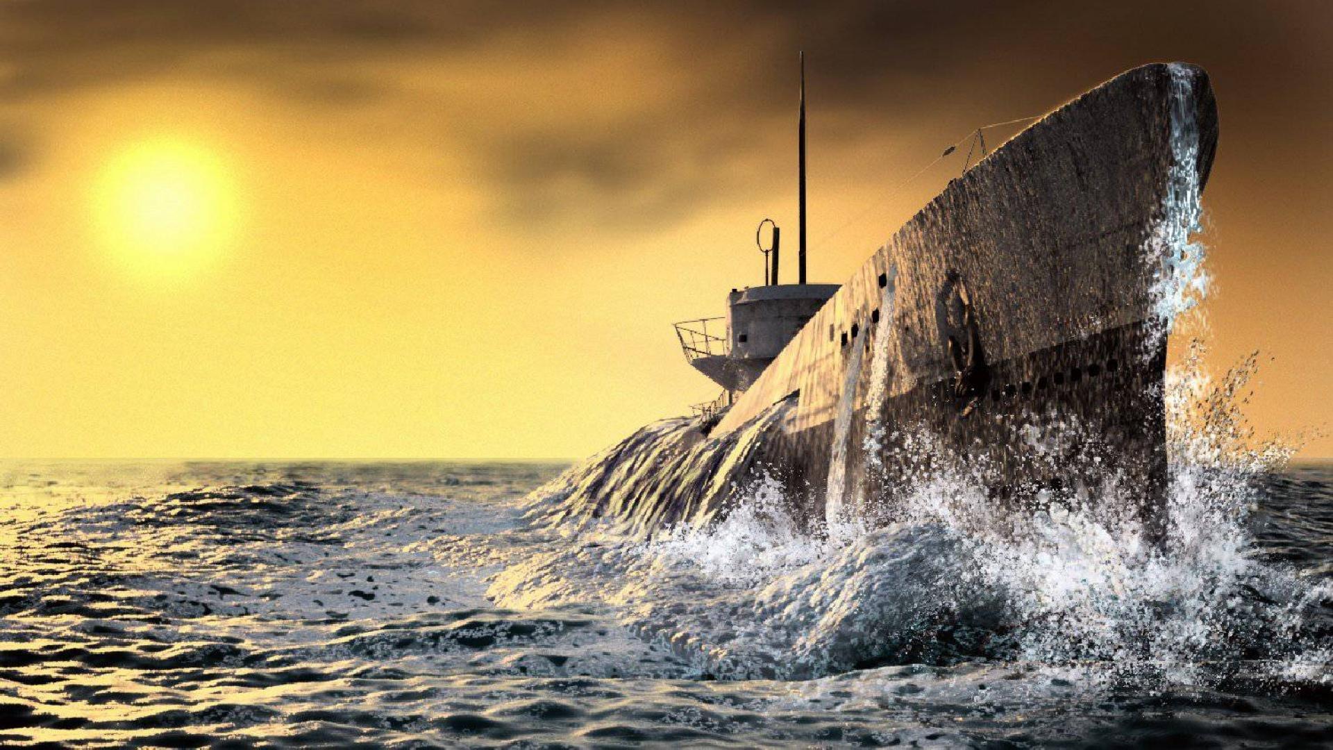 SILENT HUNTER war submarine fighting simulation military ...