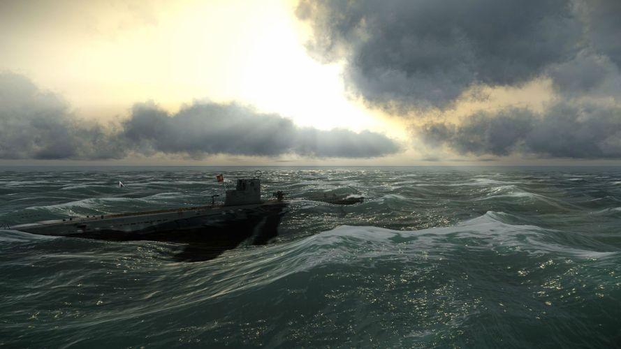 SILENT HUNTER war submarine fighting simulation military (29) wallpaper