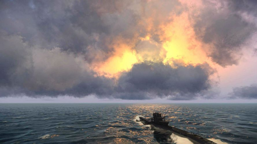 SILENT HUNTER war submarine fighting simulation military (45) wallpaper