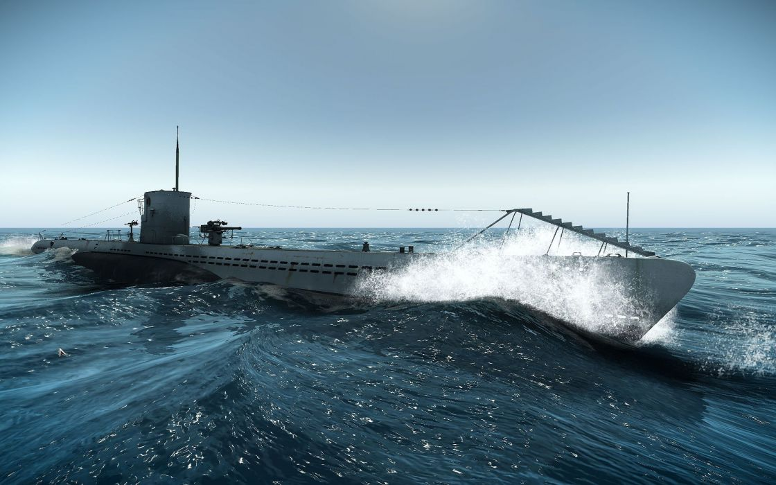 Silent Hunter War Submarine Fighting Simulation Military 47