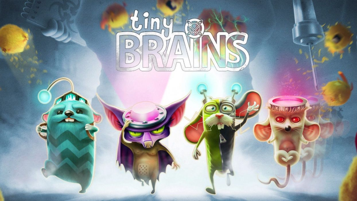 TINY-BRAINS 3-D co-op action puzzle family tiny brains (10) wallpaper