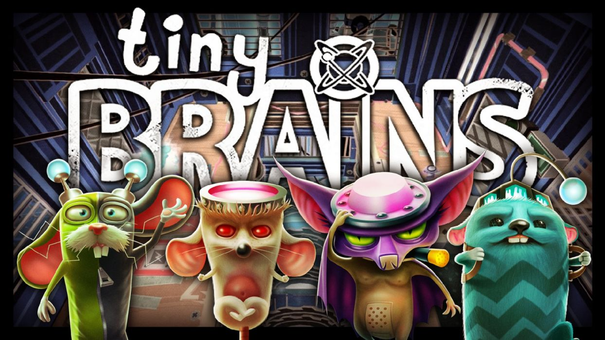TINY-BRAINS 3-D co-op action puzzle family tiny brains (1) wallpaper
