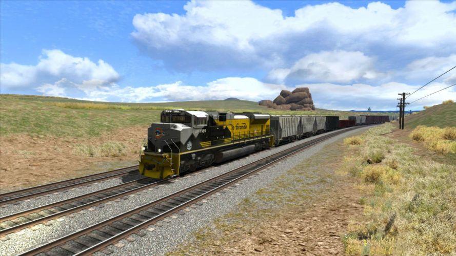 TRAIN-SIMULATOR locomotive train simulator railroad (3) wallpaper