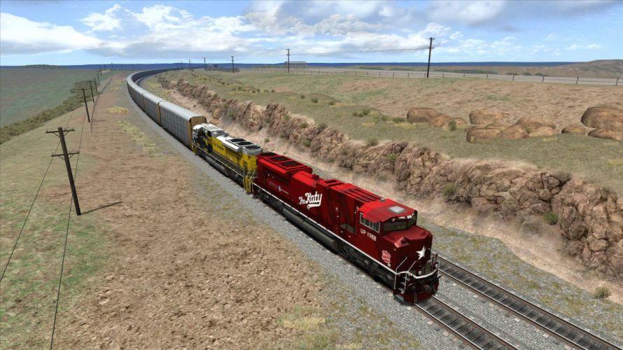 TRAIN-SIMULATOR locomotive train simulator railroad (2) wallpaper