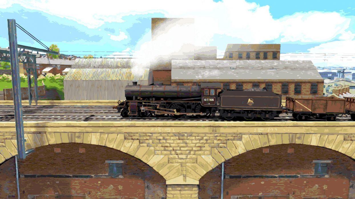 TRAIN-SIMULATOR locomotive train simulator railroad (8) wallpaper
