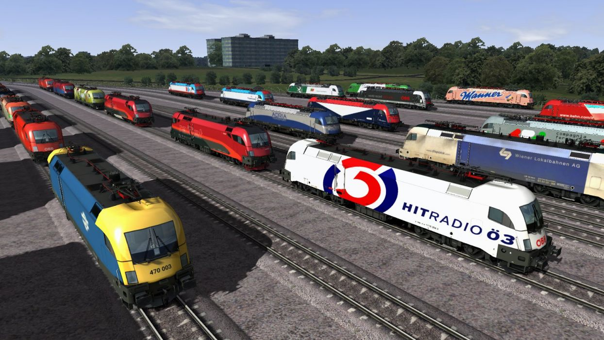 TRAIN-SIMULATOR locomotive train simulator railroad (2) wallpaper