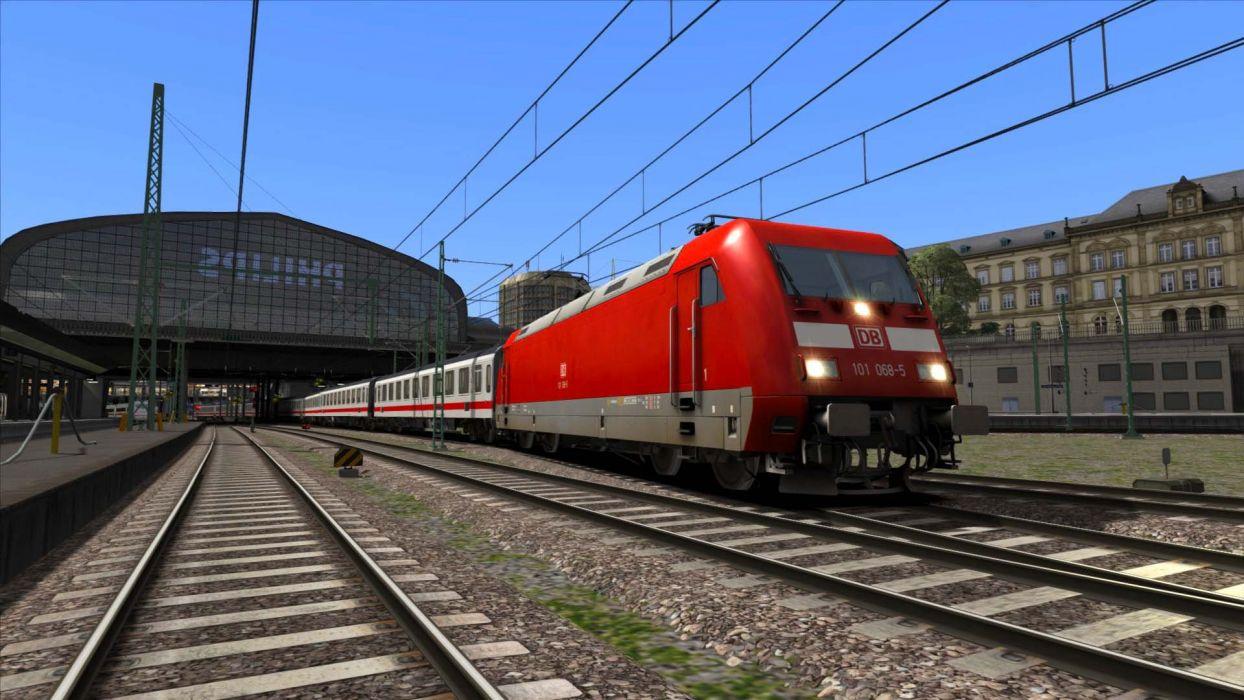 TRAIN-SIMULATOR locomotive train simulator railroad (18) wallpaper
