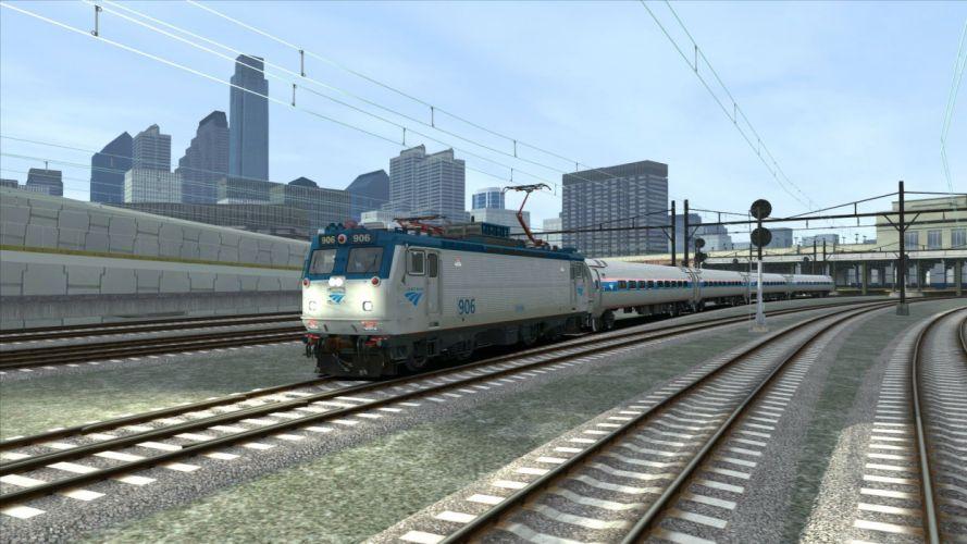 TRAIN-SIMULATOR locomotive train simulator railroad (20) wallpaper