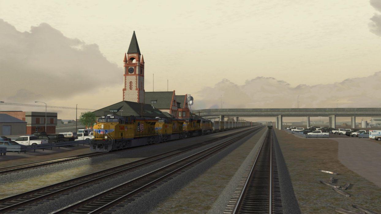 TRAIN-SIMULATOR locomotive train simulator railroad (23) wallpaper