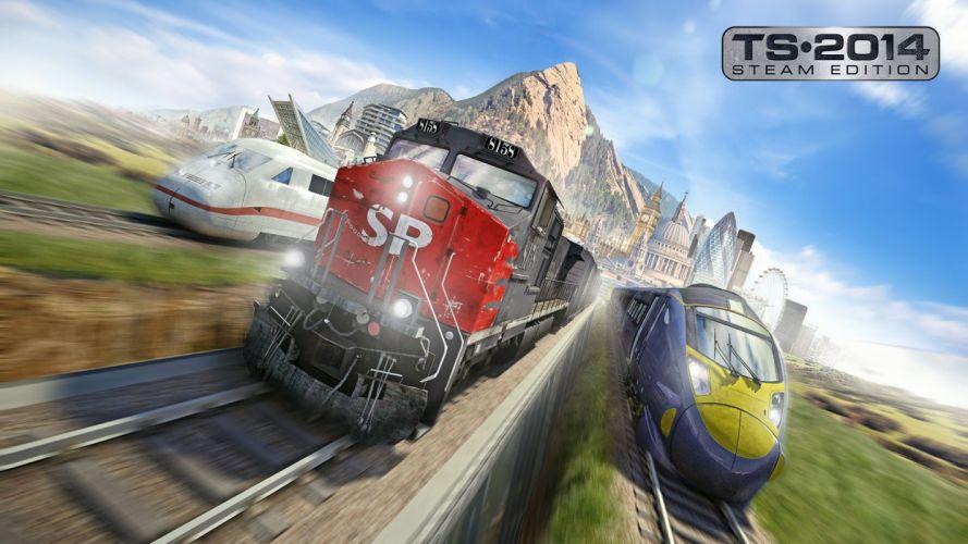 TRAIN-SIMULATOR locomotive train simulator railroad (25) wallpaper