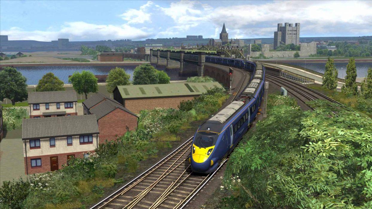 TRAIN-SIMULATOR locomotive train simulator railroad (29) wallpaper