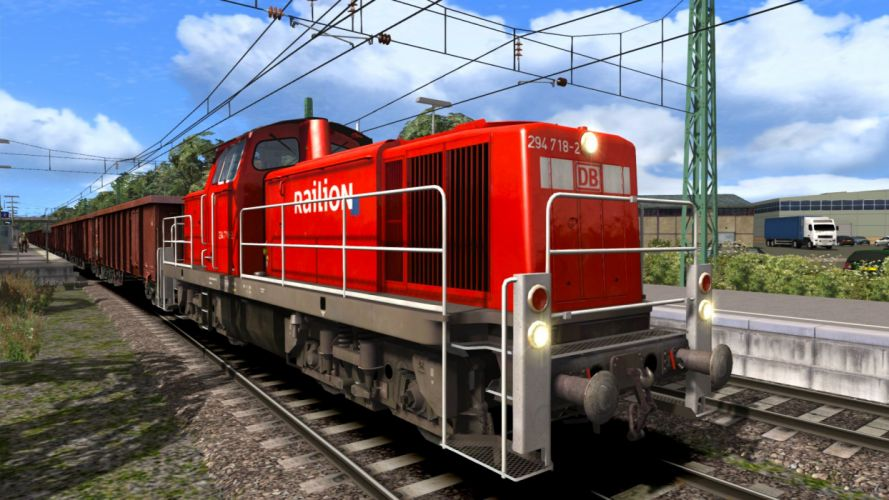 TRAIN-SIMULATOR locomotive train simulator railroad (28) wallpaper