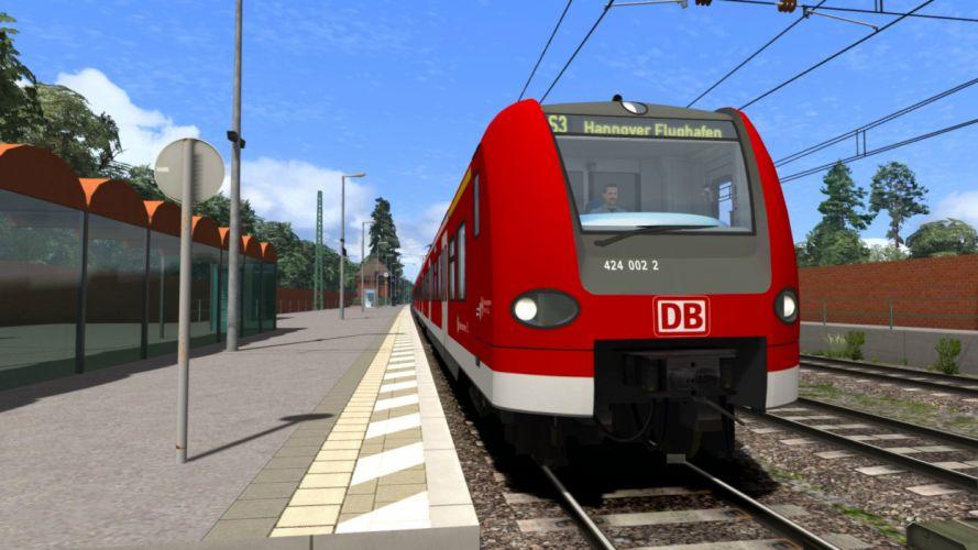 TRAIN-SIMULATOR locomotive train simulator railroad (27) wallpaper