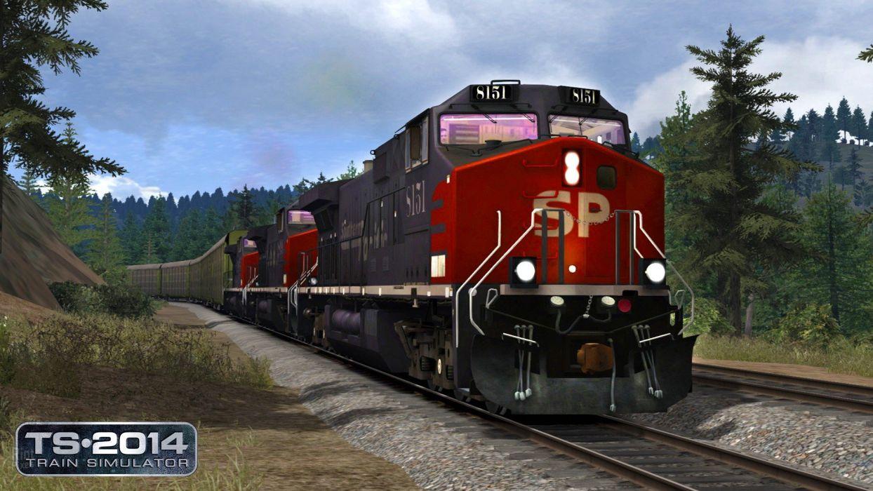 TRAIN-SIMULATOR locomotive train simulator railroad (22) wallpaper