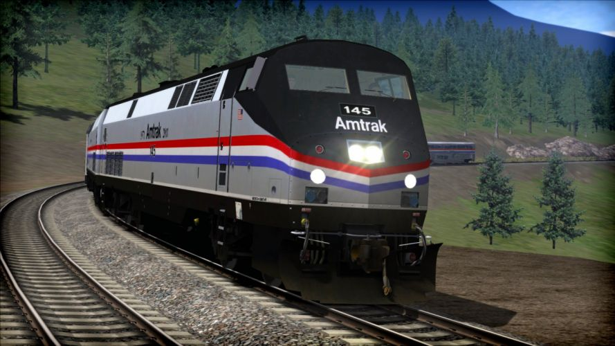 TRAIN-SIMULATOR locomotive train simulator railroad (30) wallpaper