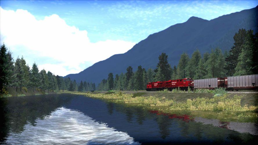 TRAIN-SIMULATOR locomotive train simulator railroad (34) wallpaper