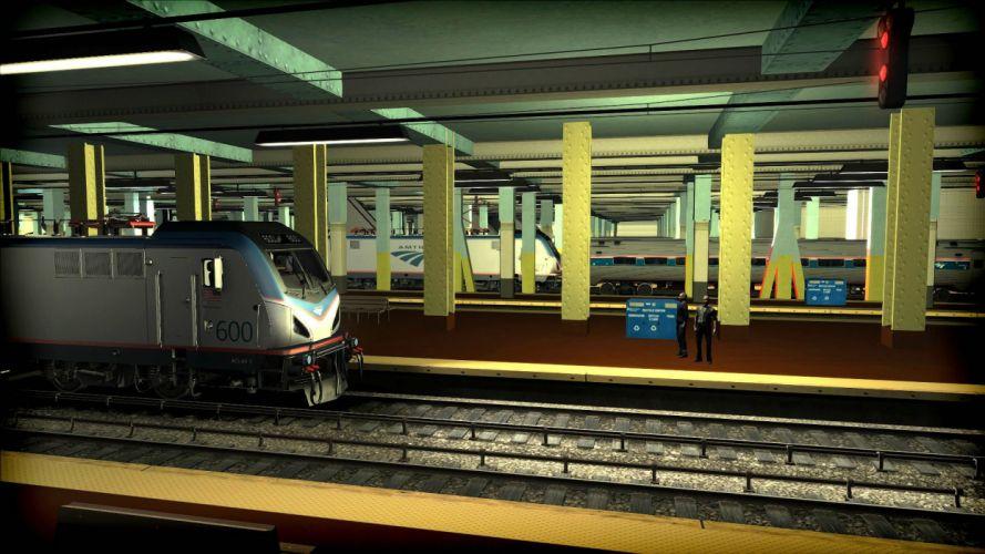 TRAIN-SIMULATOR locomotive train simulator railroad (39) wallpaper