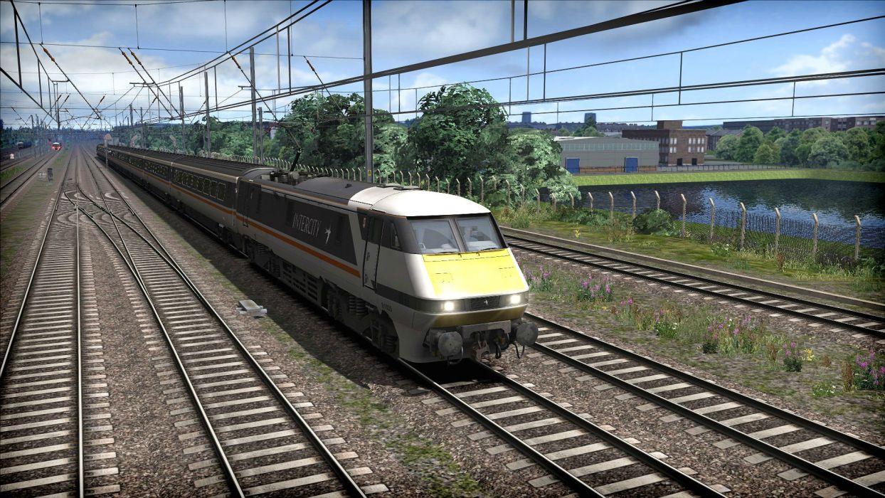 TRAIN-SIMULATOR locomotive train simulator railroad (38) wallpaper