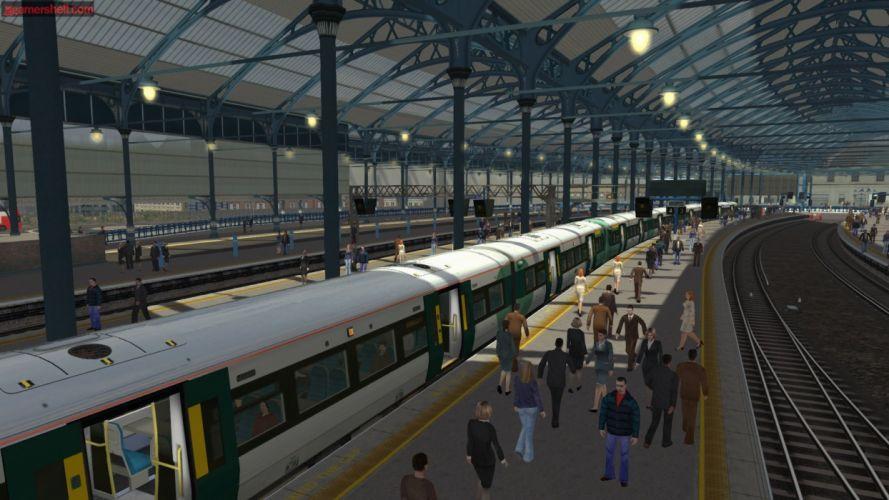 TRAIN-SIMULATOR locomotive train simulator railroad (48) wallpaper
