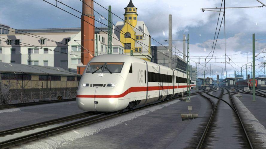 TRAIN-SIMULATOR locomotive train simulator railroad (56) wallpaper
