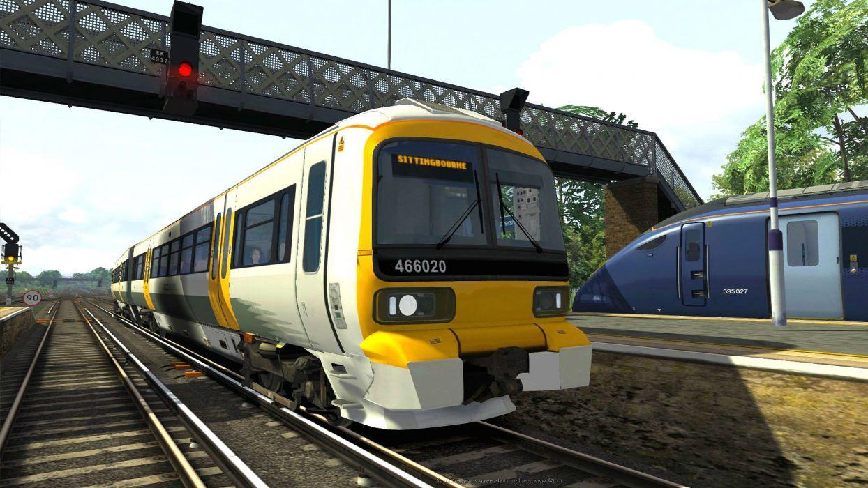TRAIN-SIMULATOR locomotive train simulator railroad (52) wallpaper