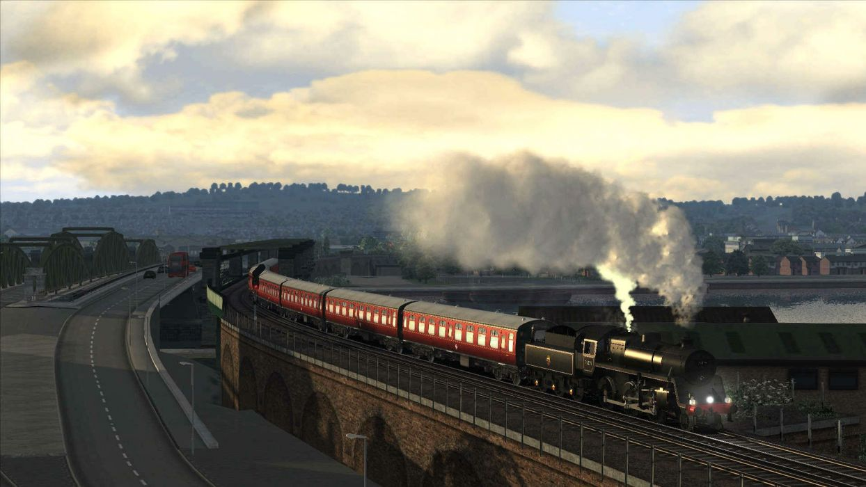 TRAIN-SIMULATOR locomotive train simulator railroad (60) wallpaper
