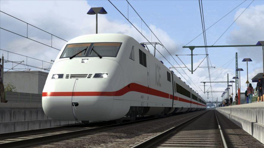 TRAIN-SIMULATOR locomotive train simulator railroad (57) wallpaper