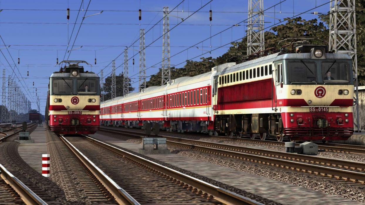 TRAIN-SIMULATOR locomotive train simulator railroad (59) wallpaper