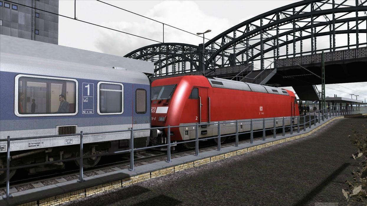 TRAIN-SIMULATOR locomotive train simulator railroad (66) wallpaper