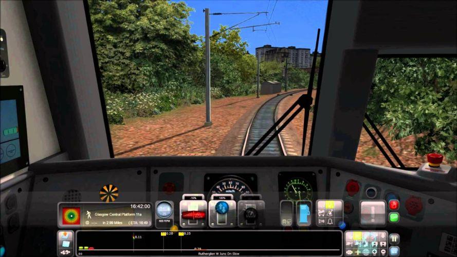 TRAIN-SIMULATOR locomotive train simulator railroad (71) wallpaper