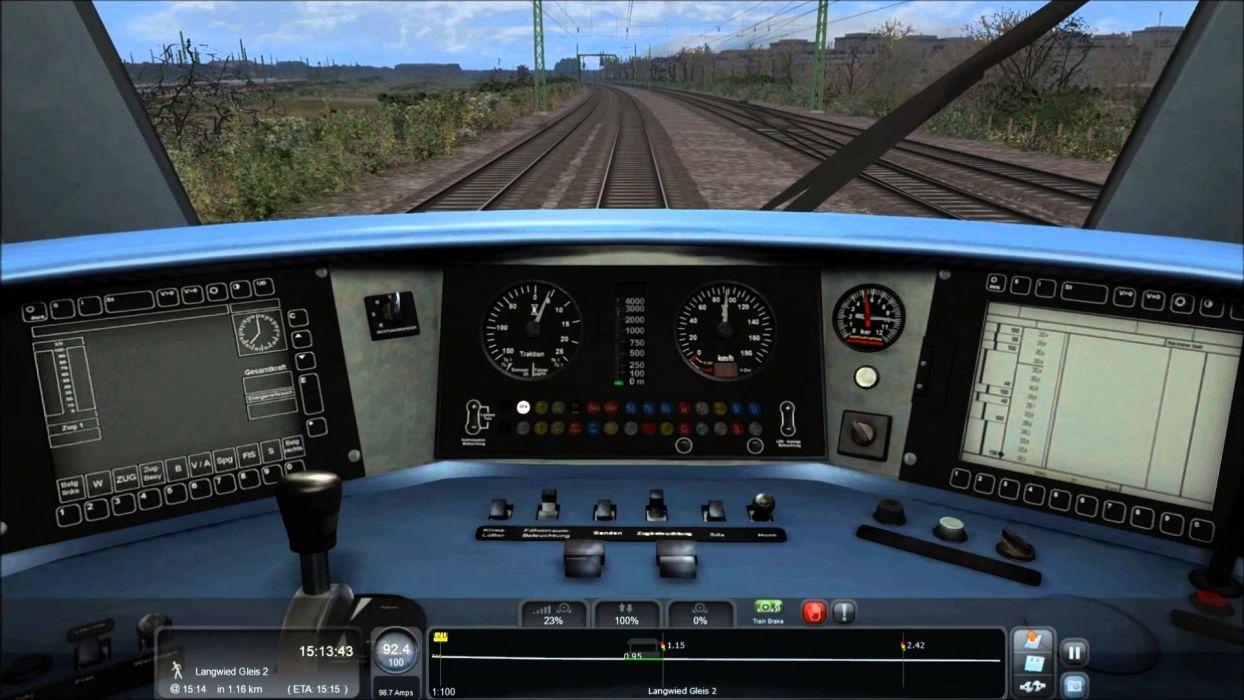 TRAIN-SIMULATOR locomotive train simulator railroad (67) wallpaper
