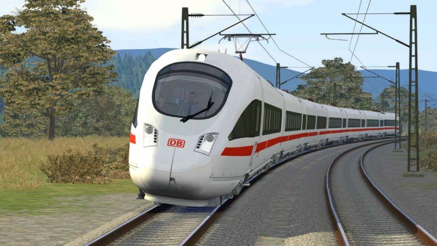 TRAIN-SIMULATOR locomotive train simulator railroad (70) wallpaper