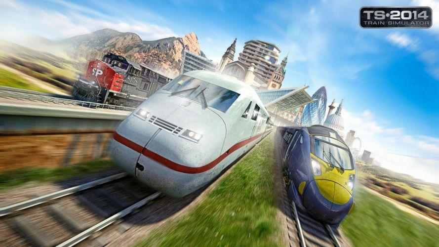 TRAIN-SIMULATOR locomotive train simulator railroad (78) wallpaper