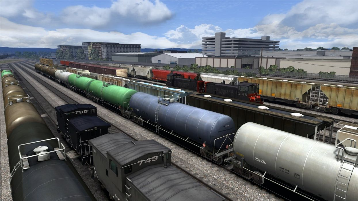 TRAIN-SIMULATOR locomotive train simulator railroad (75) wallpaper
