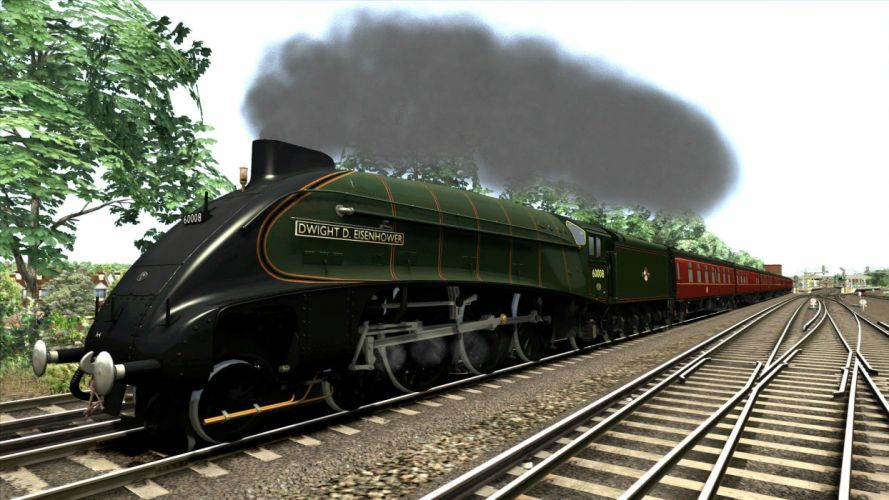 TRAIN-SIMULATOR locomotive train simulator railroad (84) wallpaper