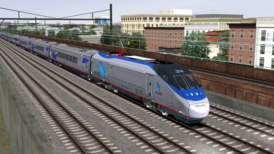 TRAIN-SIMULATOR locomotive train simulator railroad (83) wallpaper