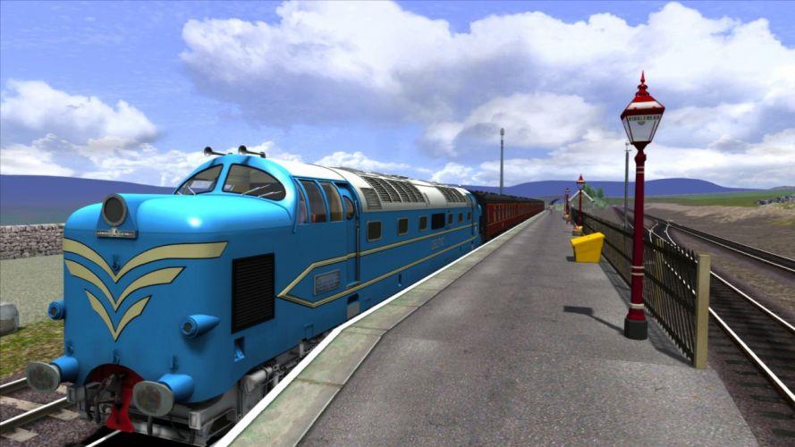 TRAIN-SIMULATOR locomotive train simulator railroad (88) wallpaper