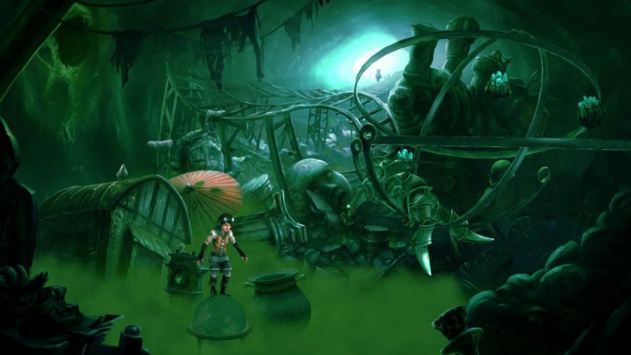 WHISPERED WORLD adventure point-and-click fantasy (1) wallpaper