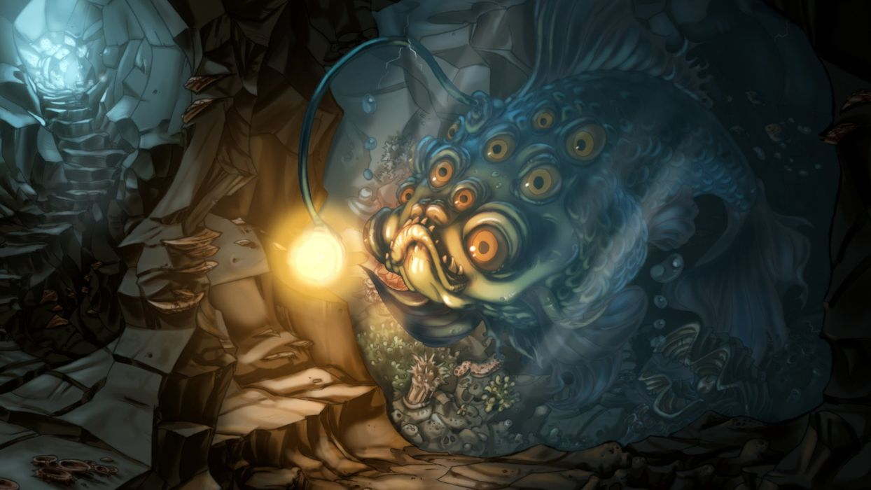 WHISPERED WORLD adventure point-and-click fantasy (17) wallpaper
