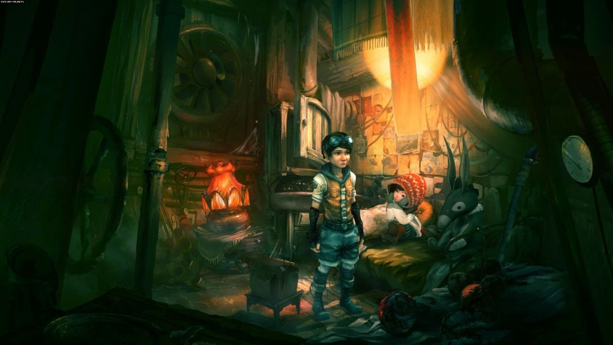 WHISPERED WORLD adventure point-and-click fantasy (25) wallpaper