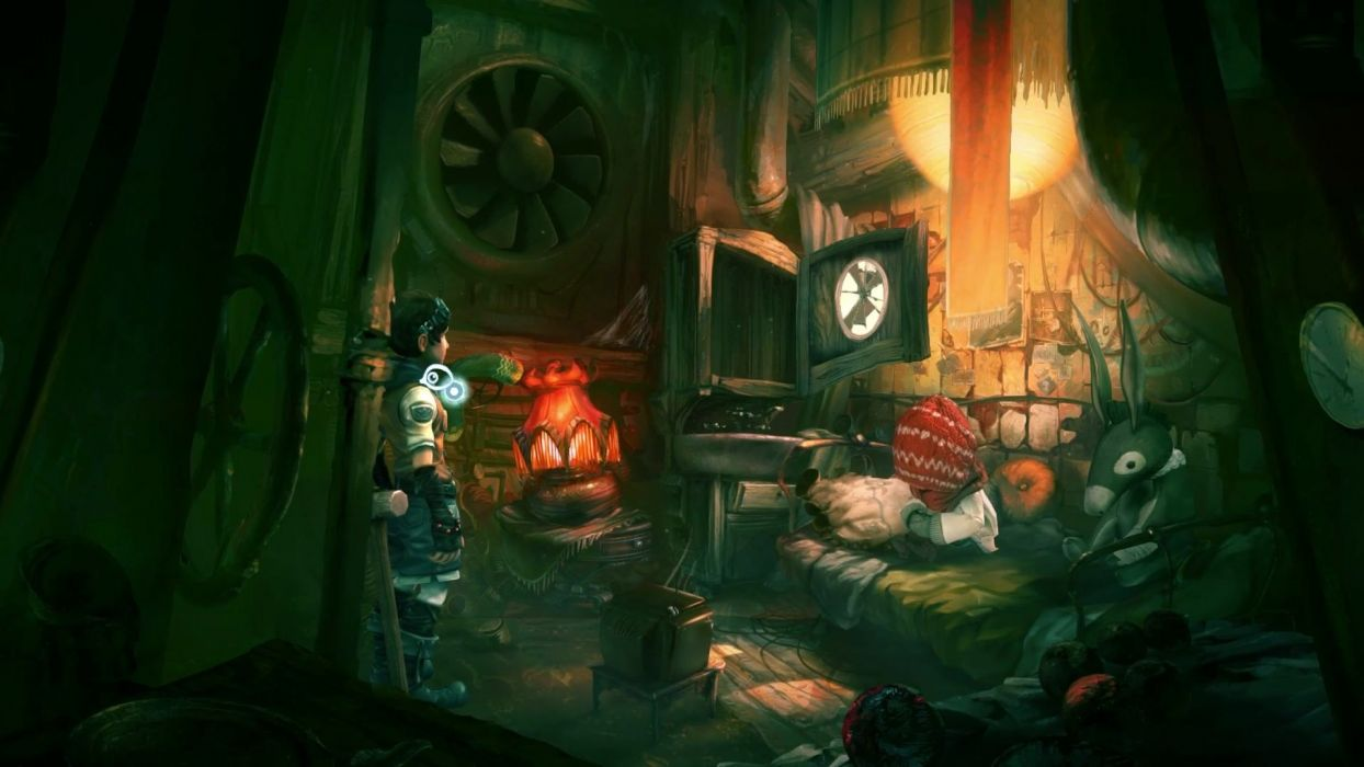 WHISPERED WORLD adventure point-and-click fantasy (32) wallpaper