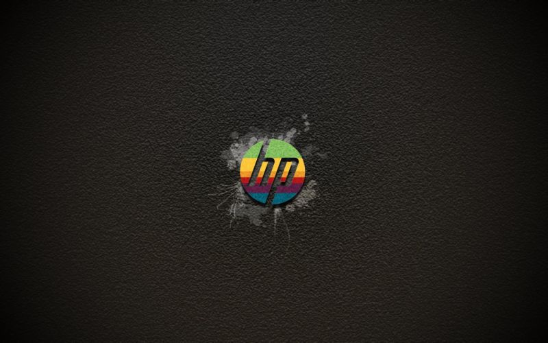 HEWLETT PACKARD computer logo wallpaper