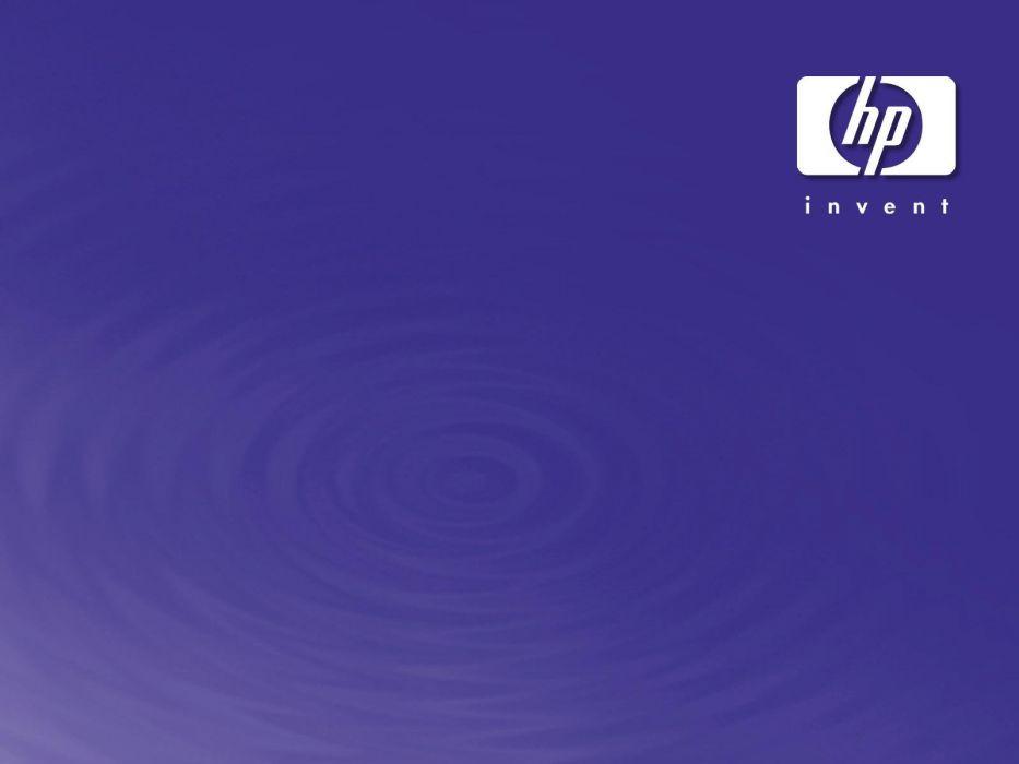 HEWLETT PACKARD computer logo wallpaper