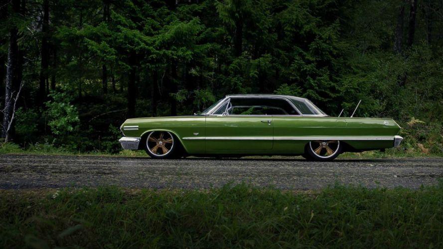 Chevrolet Impala Lowrider Wallpaper 1920x1080 421237