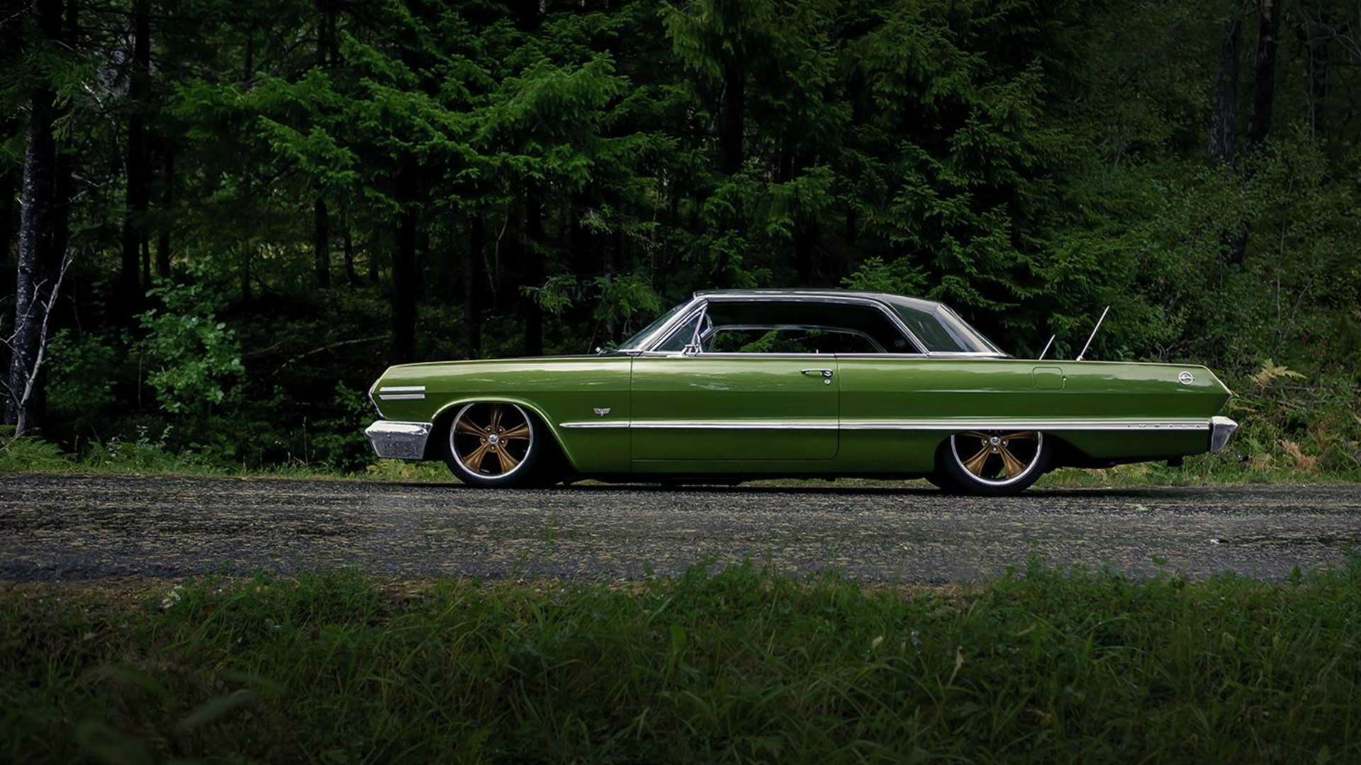 Chevrolet impala lowrider wallpaper 1920x1080 421237 wallpaperup