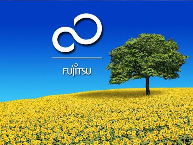 FUJITSU computer wallpaper