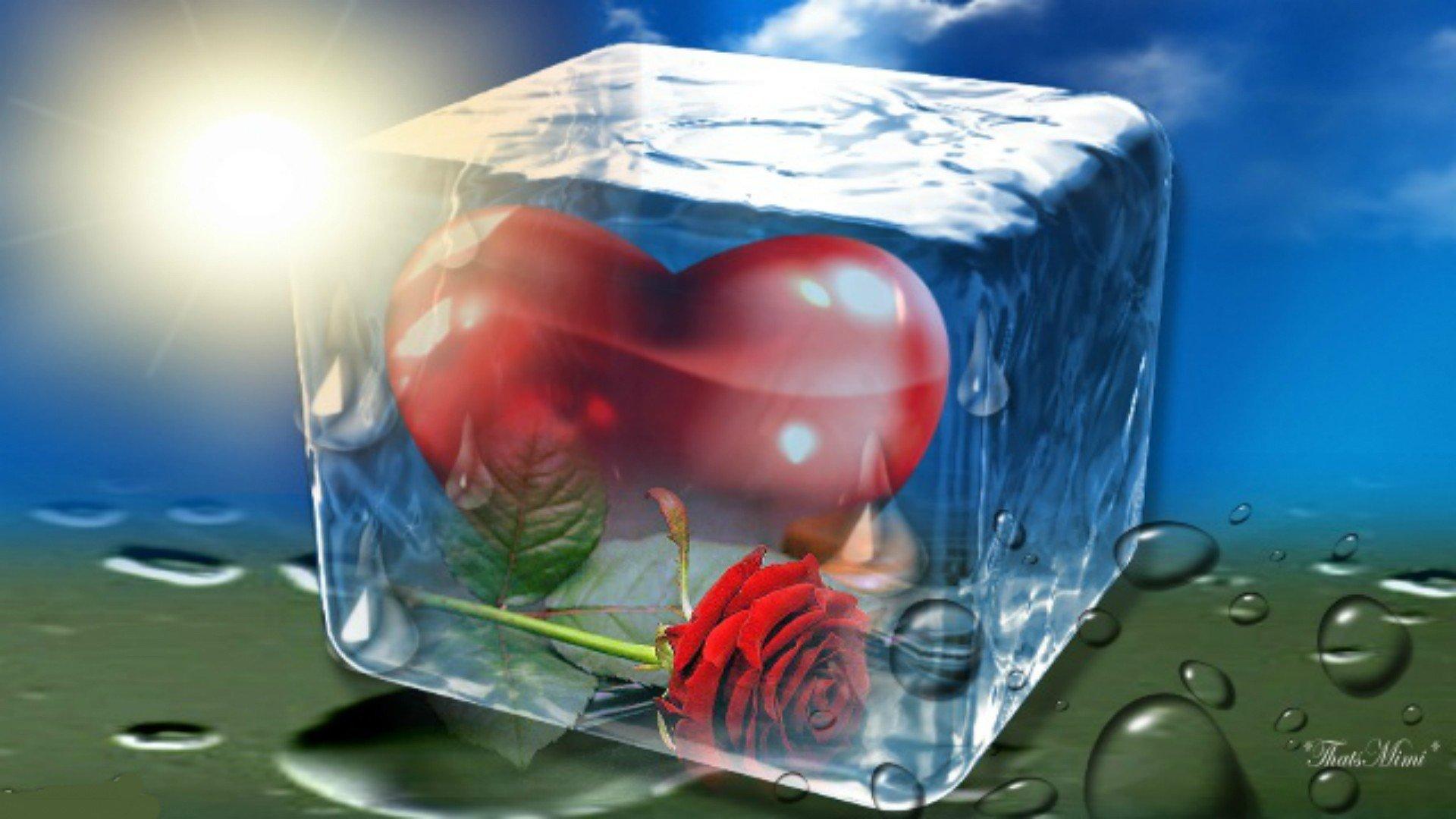 Два ледяных сердца  № 3490278 загрузить